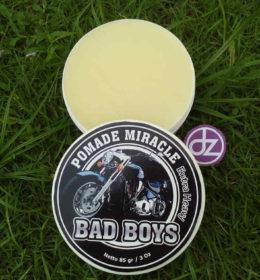 Pomade Miracle BAD BOYS Extra Heavy, Jual Pomade, Minyak Rambut Pomade