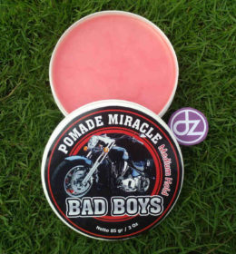 Pomade Miracle BAD BOYS Medium Hold, Jual Pomade, Minyak Rambut Pomade