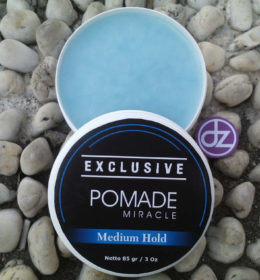 Pomade Miracle EXCLUSIVE Medium Hold, Jual Pomade, Minyak Rambut Pomade